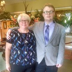 Evan and Grandmother, Family Services NC