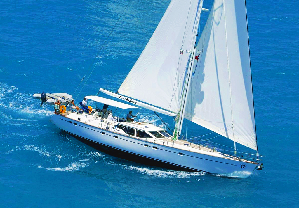 Columbo Breeze facilitated by Stuart Larsen - Fraser Yachts to AMIkids Yacht Donation Program