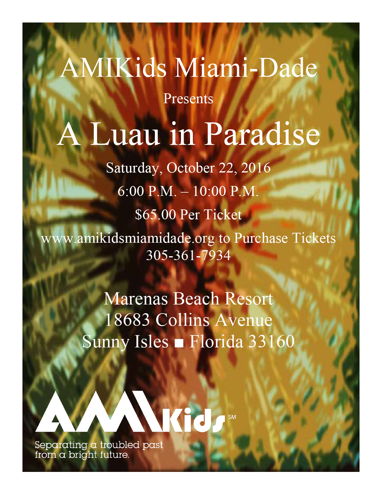 AMIkids Miami Dade South Luau in Paradise