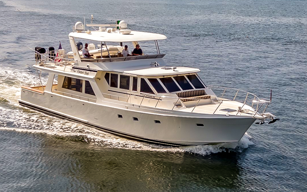 Gettin Lost 62 Offshore Pilothouse