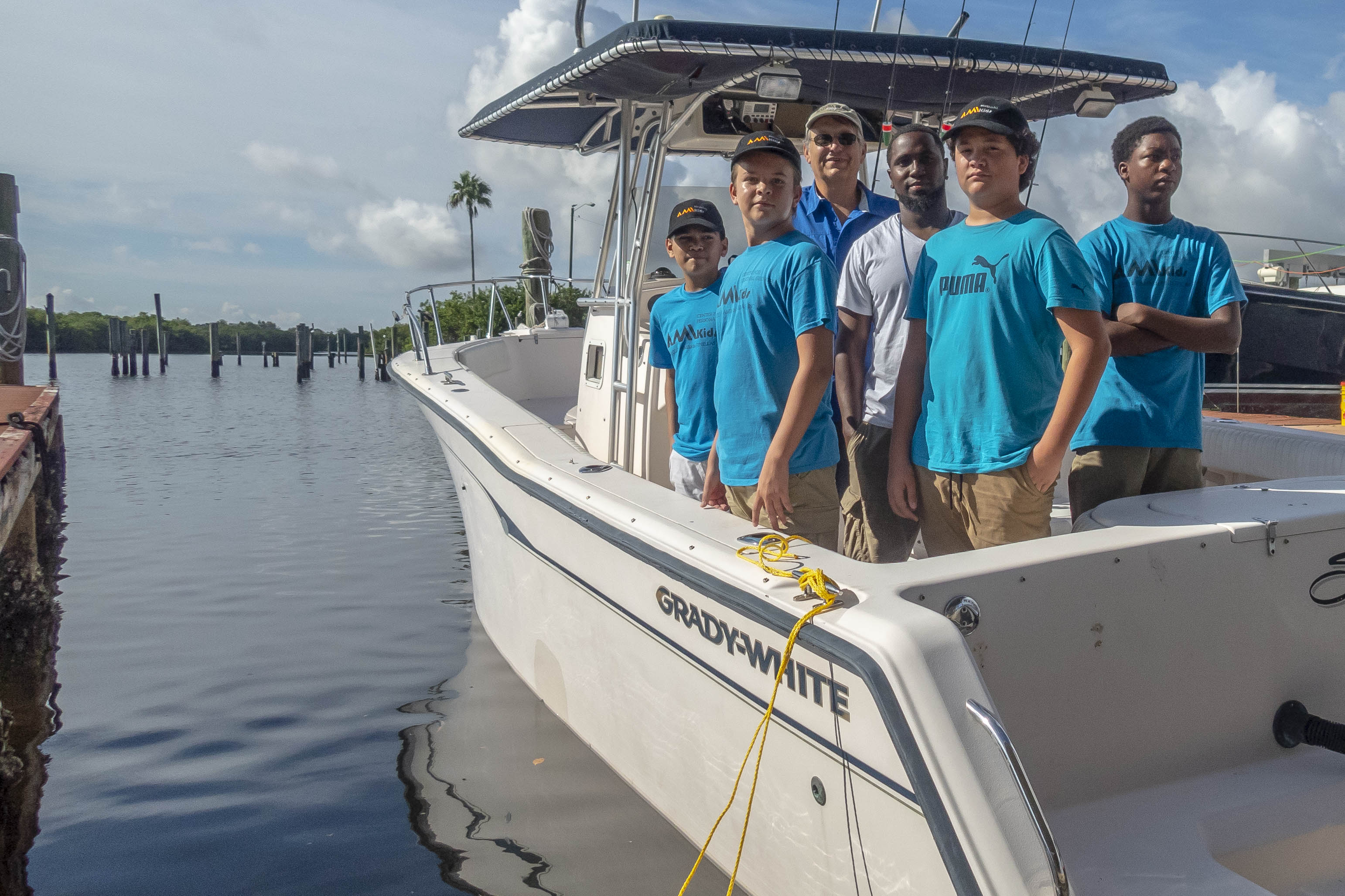 The Tampa Bay Fishing Experience team