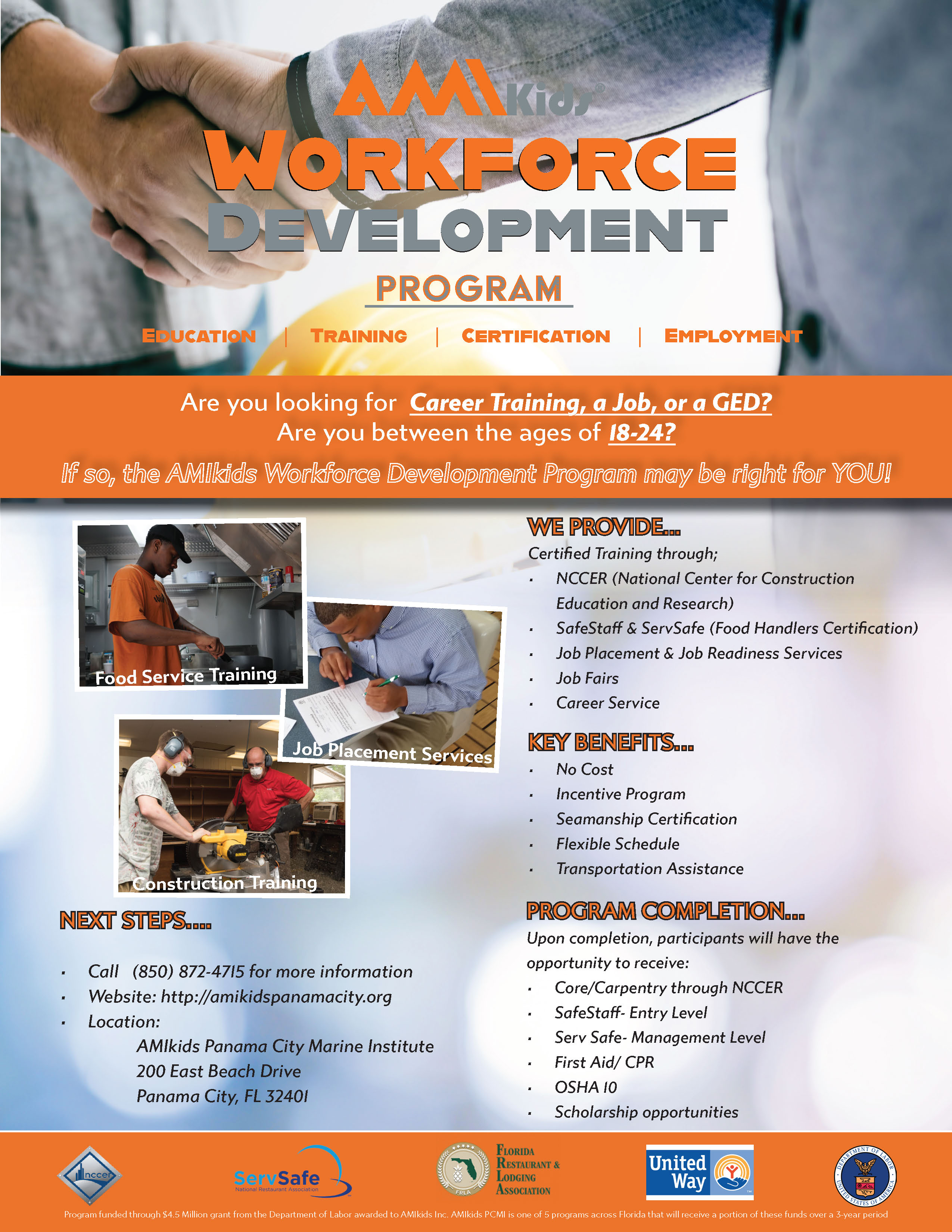 Workforce Development Flyer Panama City indd.indd 5.20.20